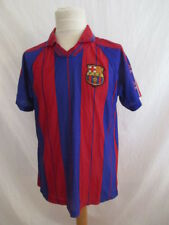 Maillot de football FC Barcelone vintage N°11 RIVALDO Taille 14 ans