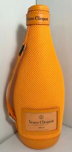 Veuve Clicquot Champagne Brut Sleeve Insulated Ice Jacket Carry Bag Orange