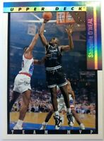 1993 93-94 Upper Deck Team MVP Shaquille O'Neal #TM19, Orlando Magic, HOF