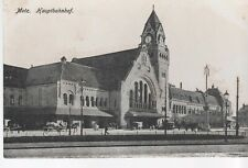 CPA 57 METZ - Hauptbahnhof - la Gare