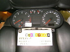 TACHIMETRO Strumento Combinato Audi a3 8l0919860e