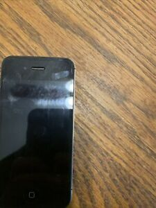 Apple iPhone 4 - 8GB - Black (Unlocked) A1349, Not Sure If Works Or Unlocked