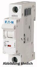 Eaton Leitungsschutzschalter mit Beschriftung PXL C 1polig C-Charakteristik