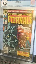 (R18)The Eternals #1 CGC 7.5  BRONZE AGE Marvel MCU- MANY LISTINGS!!