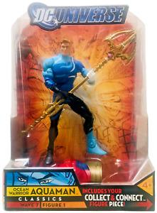 DC Universe Classics Ocean Warrior Aquaman Figure NEW 2008 Atom Smasher Wave 7