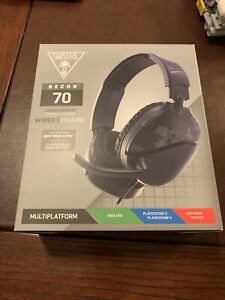 Turtle Beach Recon 70 Gaming Headset for Xbox One, Switch, PS4  Blue Camo NISB