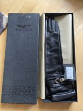 Women's Real Leather Long Gloves Fioretto/ Size 8 Brand New RRP £199.99 Ref 1