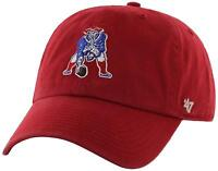 '47 NFL New England Patriots Brand Clean Up Adjustable Hat