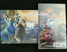 Legend Zelda BREATH OF THE WILD & Soundtrack CD Nintendo Switch Master Edition