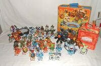50 Skylanders Giants Adventure Figures + Cases, Cards, Stickers & Portal