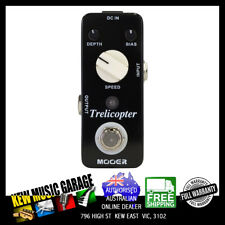MOOER TRELICOPTER OPTICAL TREMOLO MICRO GUITAR EFFECTS PEDAL
