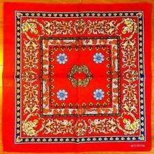 6 Pack Lot Roman Red Paisley Bandana USA Wrap Scarf 100% Cotton 22x22 inch
