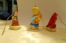 Midwest of Cannon Falls Lot 4 Christmas Ornaments Disney Tigger,Piglet,Chris,Win