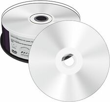 100 MediaRange Dvd-r 4 7gb Silver 3d Full Printable voll Bedruckbar Spindel
