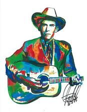 Hank Williams, Vocals, Guitar, Country, Western, Honky-Tonk, 8.5x11 PRINT w/COA