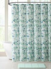 Nature Print Fabric Shower Curtains For Sale