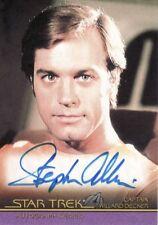 Complete Star Trek Movies Stephen Collins as Captain Willard Decker A2 Auto Card