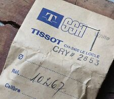 Original Tissot vintage watch 32.9mm crystal Tissot 2853 ref. 10267 c. 1960s70s