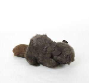 Dakin Pillow Pets Beaver Nutshell Filled Plush Stuffed Brown Vintage 1976
