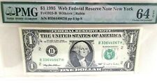 "Add a Rare *Web Note* Pmg ""64"" to your Collection Choice Unc. 1995 - Free Ship"
