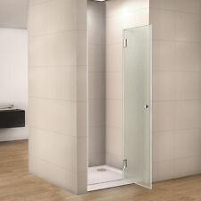 80x190cm duschtr duschabtrennung nischentr satiniert glas duschkabine dusche r - Dusche Nischentur 60
