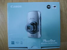 Canon PowerShot ELPH 500 HS 12.1 MP Digital Camera - Brown New Retail Box