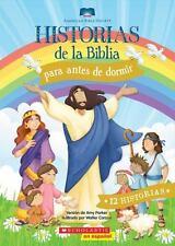 Historias de la Biblia para Antes de Dormir, Hardcover, 190 pages, NEW