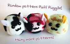 Puff Puggles Puggleformers MYSTERY PATTERN PUFF PUGGLE Hand-Made Plush Toy