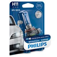 Philips H11 12V 55W PGj19-2 WhiteVision Xenon Effect 3700K 1St. 12362WHVB1