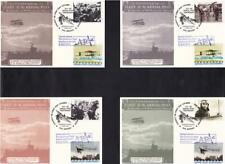 2011 Aerial Post Centenary - 4 Reprinted 1911 Post Cards - Hendon H/S + Carried!
