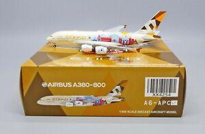 JC Wings 1:400 Etihad Airways Airbus A380-800 'Choose the United Kingdom' A6-APC