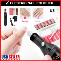 Electric Nail File Drill Manicure Machine Art Acrylic Pedicure Toe Nail Care Set