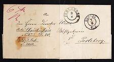 102244/ Preussen 1859 - Paketbegleitbrief von Berlin nach Perleberg