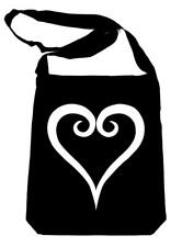 Kingdom Hearts Crossbody Sling Bag School Goth Alternative Gamer Anime Cosplay