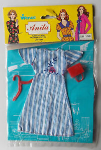 "Vintage - Anita Clothes 70er - Doll Outfit - For 11,5 "" 11 3/8in Puppet"