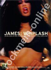 James Whiplash LP Advert