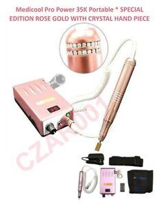 ***ROSE GOLD***Medicool Pro Power 35K Portable Manicure & Pedicure Filing System
