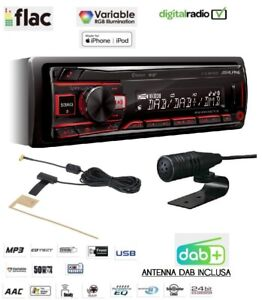 ALPINE UTE-204DAB AUTORADIO BT USB ANTENNA DAB INCLUSA 3 PRE-OUT SUB AUTO CAMPER