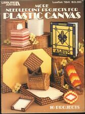 Plastic Canvas Needlepoint Projects Pattern Leaflet 1980 Leisure Arts 184 Visor