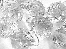 14 Crystal Jewel Acrylic Diamond Hanging Christmas Decorations BUY 2 GET 1 FREE