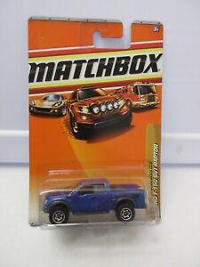 2009 Matchbox Desert Endurance Ford F-150 SVT Raptor Lot 6