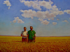 """Brothers in the Wheatfield"" Giclee:  David Kreitzer Fine Art   dkreitzer.com"