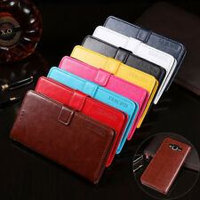 For Samsung J7 Neo/ NXT/ Core, Flip Leather Stand Wallet Shockproof Cover Case