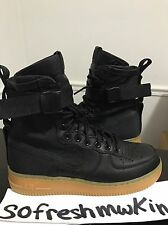 Nike Airforce One Special Field Black Sz 8 Sf Af1 ! Beige White Olive Bone 1