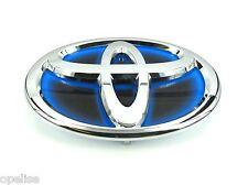 Genuine New TOYOTA GRILLE BADGE Front Blue Emblem For Yaris 2014+ Hybrid 1.5