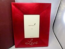 Red Love Papyrus Picture Frame Nib Mint 4 X 6 Photo