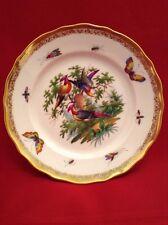 Dresden Porzellan Teller - Paradiesvogel - Richard Klemm - um 1900 - TOP ZUSTAND