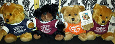 (4) My Town Originals Teddy Bear  Somebody in Belle Vernon, PA Loves You!  CUTE!