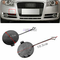 New Front Bumper Towing Eye Cover Tow Hook Cap for AUDI A4 B7 04-08 8E0807241C
