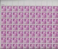 Scott #945.. 3 Cent...Edison...Sheet of  70  MNH OG  XF  BV 18.00